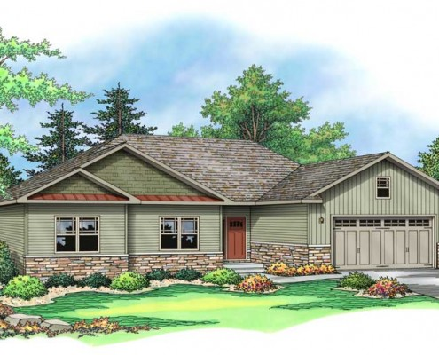 The Abby from Terrace Custom Home Builders in Wisconsin
