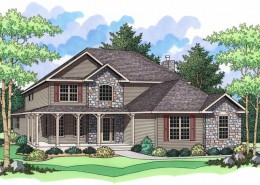 The Willow Creek from Terrace Custom Home Builders in Wisconsin