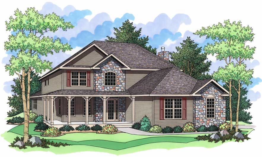 The Willow Creek from Terrace Custom Home Builders in Wisconsin on georgian colonial house plans, traditional georgian house plans, english georgian house plans, old plantation style house plans, french colonial home plans, georgian style homes,