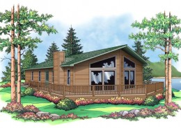 The Woodsman 3 from Terrace Custom Home Builders in Wisconsin