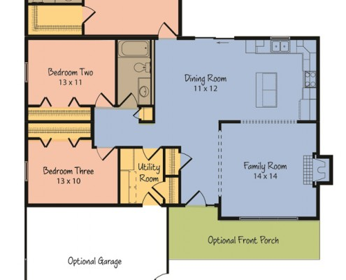 The Atwater Floorplan