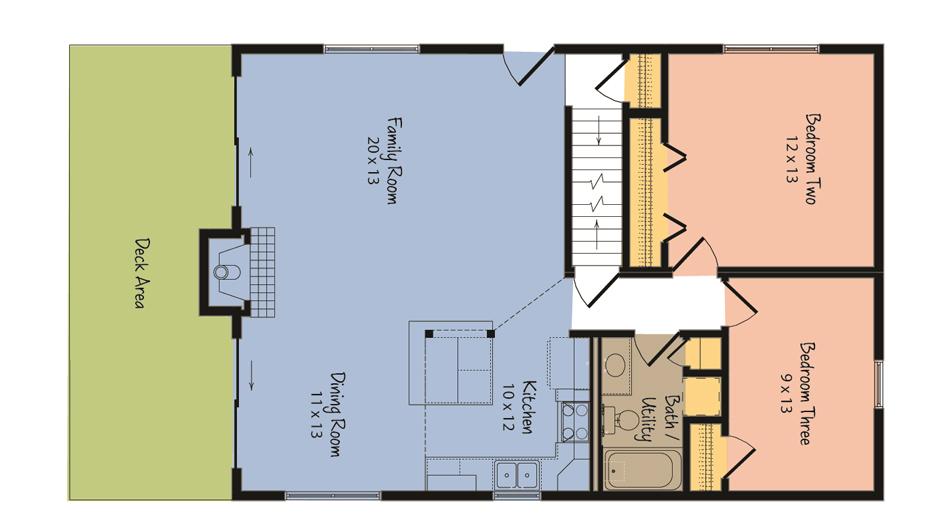 The Aspen Custom Home Floor