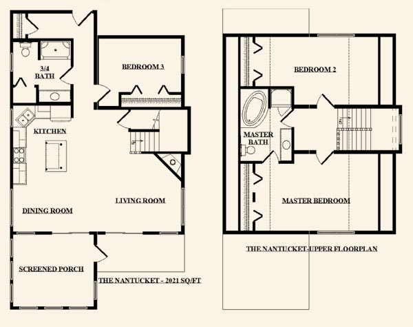 The nantucket from terrace custom home builders in wisconsin for Nantucket floor plan