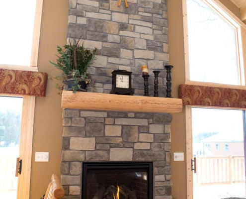 The Loft Fireplace
