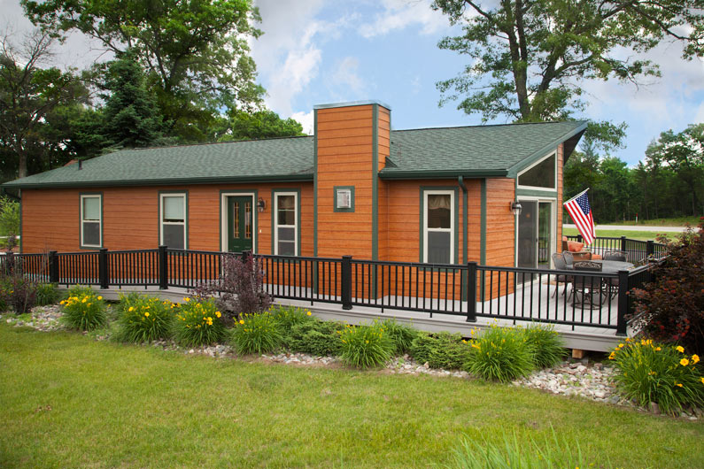The woodsman 3 from terrace custom home builders in wisconsin for Terrace house full episodes